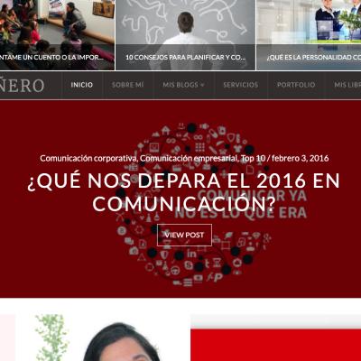 Bloc personal bloc autonomo Ruth Mañero